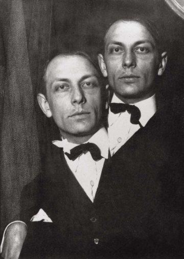 Claude-Cahun-Henri-Michaux-1925-Collection-Soizic-Audouard