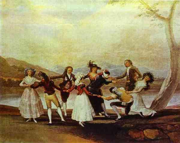 Blind Man's Bluff Francisco de Goya